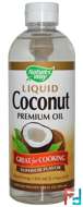 Liquid Coconut, Premium Oil, Nature's Way, 20 fl oz (592 ml)