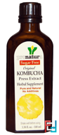 Original Kombucha Press Extract, Sugar Free, Pronatura, 3.38 fl oz (100 ml)