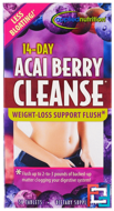 14-Day Acai Berry Cleanse, Irwin Naturals, 56 Tablets
