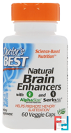 Natural Brain Enhancers PS & GPC, Doctor's Best, 60 Veggie Caps