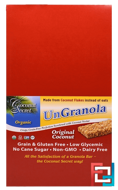 Organic Original Coconut Ungranola Bar, Coconut Secret, 12 Bars, 1.2 oz (34 g) Each