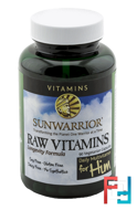 Raw Vitamins, Daily Multivitamin for Him, Sunwarrior, 90 Veggie Caps