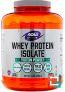 Whey Protein Isolate, Sports, Now Foods, 5 lbs, 2268 g