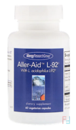 Aller-Aid L-92 with L. Acidophilus L-92, Allergy Research Group, 60 Vegetarian Capsules