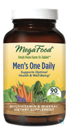 Men's One Daily, Iron Free, MegaFood, 90 Tablets