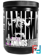 Juiced Aminos, Animal Enhanced BCAA, Universal Nutrition, 376 g