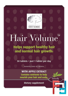Hair Volume With Apple Extract, New Nordic US Inc, 30 Tablets