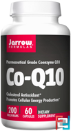 Co-Q10, Jarrow Formulas, 200 mg, 60 Capsules