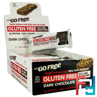 NuGo Free, Gluten Free, Dark Chocolate Crunch, NuGo Nutrition, 12 Bars, 1.59 oz (45 g) Each