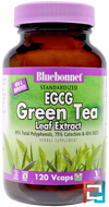 EGCG Green Tea Leaf Extract, Bluebonnet Nutrition, 120 Veggie Caps