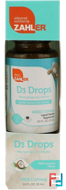 D3 Drops, Microdrops for Infants, Mild Coconut Flavor, Zahler, 0.5 fl oz (15 ml)