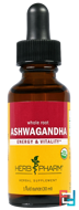 Herb Pharm, Ashwagandha, Whole Root, 1 fl oz (30 ml)