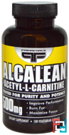 Discontinued - Alcalean, Acetyl-L-Carnitine, Primaforce, 500 mg, 100 Veggie capsules