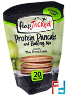 Protein Pancake and Baking Mix, Cinnamon Apple, FlapJacked, 12 oz (340 g)
