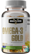 Omega-3 Gold, Maxler DE®, 1000 mg, 120 softgels