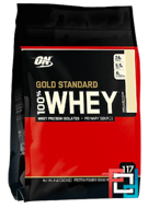 100% Whey Gold Standard, Optimum Nutrition, 7.79 lb, 3530 g
