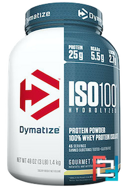 ISO•100 Hydrolyzed, 100% Whey Protein Isolate, Dymatize Nutrition, 3 lbs, 1400 g