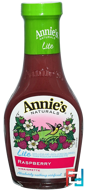 Lite, Raspberry Vinaigrette, Annie's Naturals, 8 fl oz (236 ml)
