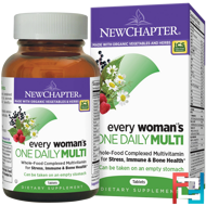 Every Woman's One Daily Multi, New Chapter, 72 Tablets