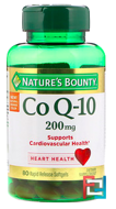 Co Q-10, Nature's Bounty, 200 mg, 80 Rapid Release Softgels