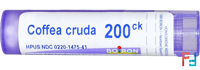 Single Remedies, Coffea Cruda, 200CK, Boiron, Approx 80 Pellets