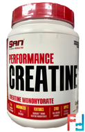 Performance Creatine, SAN, 1200 g