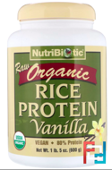 Rice Protein, NutriBiotic, 3 lb, 1360 g