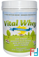 Vital Whey, Well Wisdom, 21 oz, 600 g