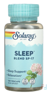 Sleep Blend SP-17, Valerian-Hops, Solaray, 100 Veggie Caps