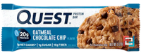 QuestBar, Protein Bar, Oatmeal Chocolate Chip, Quest Nutrition, 1 Bar * 60 g