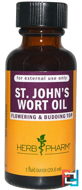 St. John's Wort Oil, Herb Pharm, 1 fl oz (29.6 ml)