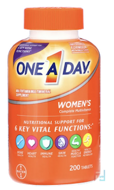 Women's Formula, Multivitamin/Multimineral Supplement, One-A-Day, 200 Tablets