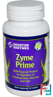 Zyme Prime, Multi-Enzyme, Houston Enzymes, 90 Capsules