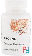 Green Tea Phytosome, Thorne Research, 60 Vegetarian Capsules
