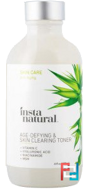 Age-Defying & Skin Clearing Toner, InstaNatural, 120 ml
