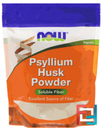Psyllium Husk Powder, Now Foods, 24 oz, 680 g