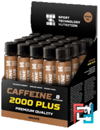 Caffeine 2000, Sport Technology Nutrition, 20 amp * 25 ml