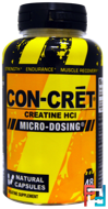 Creatine HCI, Con-Cret, ProMera Sports, 750 mg, 72 Natural capsules