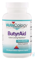 ButyrAid, Nutricology, 100 Tablets