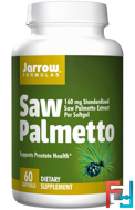 Saw Palmetto, Jarrow Formulas, 160 mg, 60 Softgels