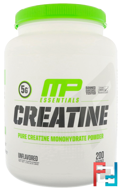 Creatine Essentials, Unflavored, MusclePharm, 2.2 lbs, 1000 g