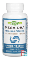 EfaGold, Mega-DHA, 1000 mg, Nature's Way, 60 Softgels