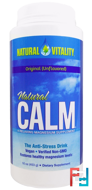Natural Calm, The Anti-Stress Drink, Original (Unflavored), Natural Vitality, 16 oz (453 g)
