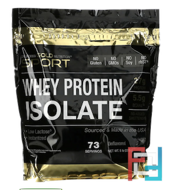 Whey Protein Isolate, Instantized, Ultra-Low Lactose, California Gold Nutrition, 75 Servings, 5 lb, 80.1 oz,  2270 g
