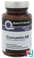 Curcumin-SR, Healthy Aging, 125 mg, Quality of Life Labs, 30 Veggie Caps