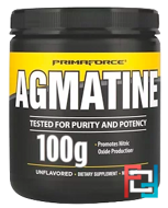 Agmatine, Unflavored, Primaforce, 100 g