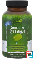 Computer Eye Fatigue, Irwin Naturals, 60 Liquid Soft-Gels