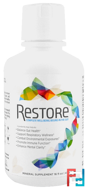 For Gut Health Mineral Supplement, Restore, 16 fl oz (473 ml)