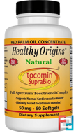 Tocomin SupraBio, Healthy Origins, 50 mg, 60 Softgels