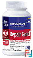 Repair Gold, Enzymedica, 120 Capsules